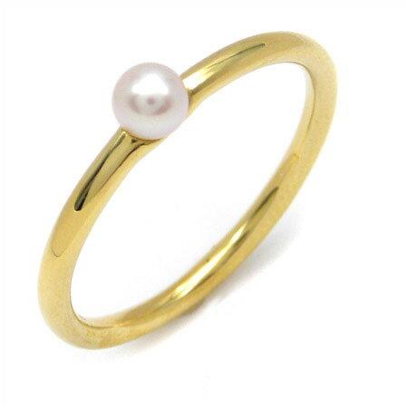 K18 パール ターコイズ コーディネート リング 「cupolino」送料無料 指輪 ゴールド 18K 18金 真珠 トルコ石 誕生日 6月誕生石 12月誕生石 刻印 文字入れ メッセージ ギフト 贈り物 ピンキーリング対応可能
