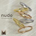 K18 コーディネート リング 「nudo」送料無料 地金 シンプル ピンキーリング 指輪 ダイヤモンド ダイアモンド ファラ…