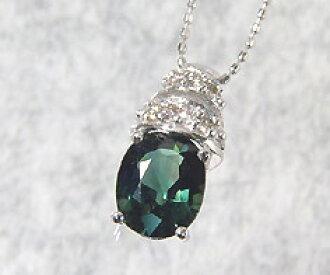 Umu rakuten global market pure deep green k18wg green k18wg green sapphire 179 ct diamond pendant can ship as long as the one day christmas xmas aloadofball Choice Image