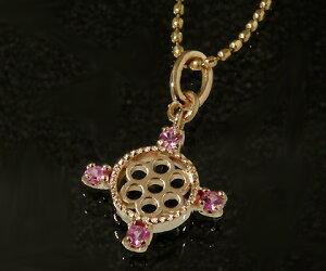 K18 ピンクサファイア ペンダントトップ 「rosone」 ネックレス サファイア 誕生日 9月誕生石 18K 18金 ゴールド 記念日 メッセージ ギフト 贈り物