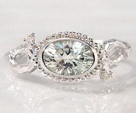 K18 グリーンアメシスト ダイヤモンド リング 「driade」 指輪 ゴールド 18K 18金 アメジスト ダイアモンド 木目 誕生日 2月誕生石 刻印 文字入れ メッセージ ギフト 贈り物 ピンキーリング対応可能