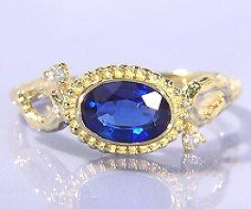 K18 カイヤナイト ダイヤモンド リング 「driade」 指輪 ゴールド 18K 18金 木目 刻印 文字入れ メッセージ ギフト 贈り物 ピンキーリング対応可能