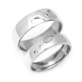マリッジリング ダイヤモンド 「Heart」 プラチナ900 (レディース:1〜20号 メンズ:10〜29号)