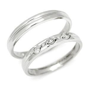 マリッジリング ダイヤモンド 「Tempo」 プラチナ900 (レディース:1〜20号 メンズ:10〜29号)