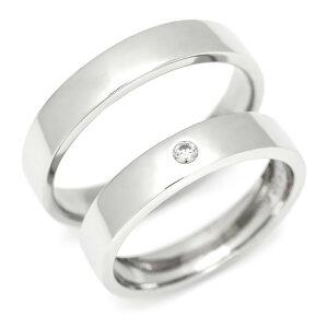 マリッジリング ダイヤモンド「Smooth」 プラチナ900 (レディース:1〜20号 メンズ:10〜29号)