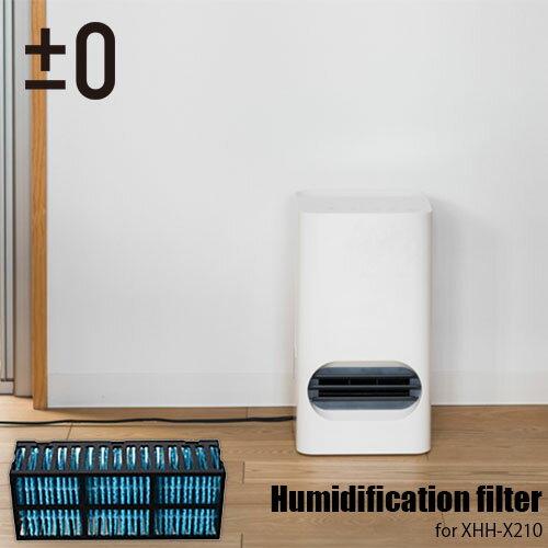 ±0/プラスマイナスゼロ Ceramic fan heater 加湿セラミックファンヒーター XHH-X210用加湿フィルター XQF-X210
