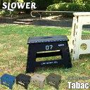 SLOWER FOLDING STEP Tabac フォールディングステップ タバック 折りたたみ椅子/踏み台/ステップ/アウトドア