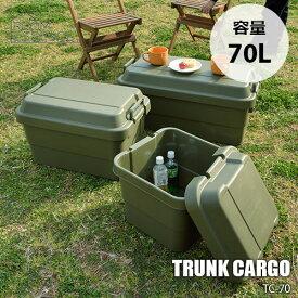 ROOM ESSENCE/東谷 TRUNK CARGO TC-70 「トランクカーゴ70L」収納 ケース アウトドア 頑丈(メーカー直送)