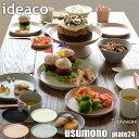 ideaco/イデアコ テーブルウェア「usumono」plate24 (24cm) バンブーメラミン/お皿/プレート/軽量/薄い/割れにくい