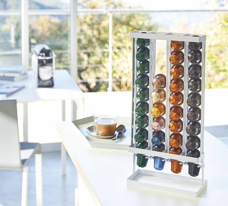 tower/タワー(山崎実業) コーヒーカプセルホルダー タワー Sサイズ用 COFFEE CAPUSULE HOLDER スタンド式/収納/キッチン