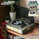Gadhouse/ガドハウス(ハモサ) Brad Retro record player ブラッド レトロレコードプレーヤー GAD001 ターンテーブル/…
