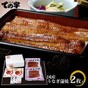 敬老の日 ギフト うなぎ 鰻 国産 蒲焼 赤羽門(あかばねもん) 200g(100g×2尾) ての字 手焼き