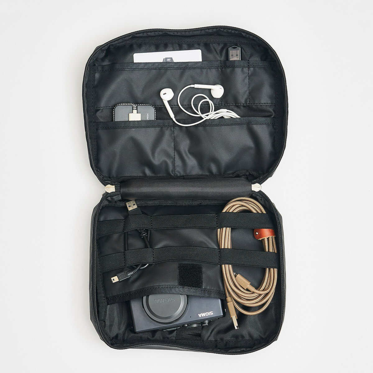 【AS2OV公式通販】 AS2OV (アッソブ) TRAVEL SERIES GADGET POUCH 061803