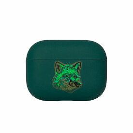 NATIVE UNION×MAISON KITSUNE GREEN FOX CASE FOR Airpods Pro case エアーポッズプロケース ネイティユニオン × メゾンキツネ