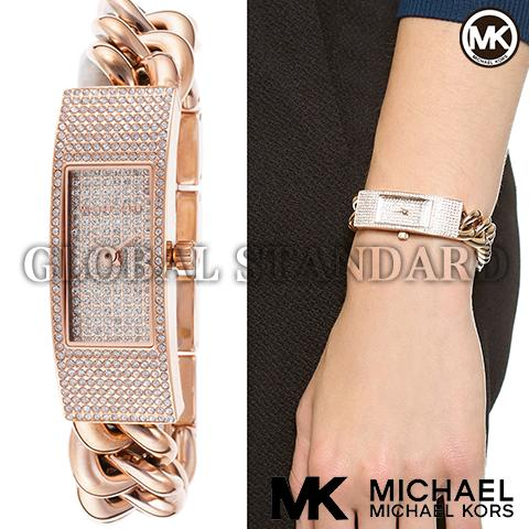 楽天デイリーランキング入賞!! マイケルコース 時計 腕時計 レディース Michael Kors 腕時計 MK3307 インポート MK3305 MK3306 MK3308 同シリーズ 海外取寄せ 送料無料 ピンクゴールド
