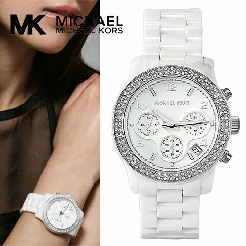 マイケルコース 時計 マイケルコース 腕時計 レディース Michael Kors MK5188 インポート ホワイト セラミック 海外取寄せ 送料無料
