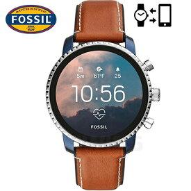 フォッシル スマート ウォッチ フォッシル 腕時計 メンズ Fossil スマートウォッチ Fossil 腕時計 ジェネレーション4 フォッシル タッチスクリーン スマートウォッチ インポート FTW4016 Fossil Smartwatch エクスプローリースト EXPLORIS 海外取寄せ 送料無料