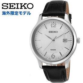 セイコー 腕時計 メンズ セイコー 逆輸入 セイコー 時計 SEIKO ウォッチ SEIKO 腕時計 SUR149 逆輸入 海外モデル ブラック シルバー 海外取寄せ 送料無料