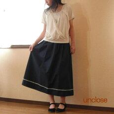 型紙/ロングギャザースカート