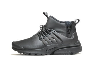 NIKE AIR PRESTO MID UTILITY (859524-003) BLACK/BLACK-VOLT-DARK GREY