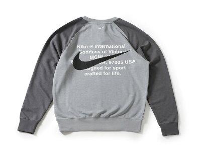 NIKESWOOSHCREWFRENCHTERRY(CJ4872-073)【ナイキ】【メンズファッション】【トップス】【トレーナー】【スポーツ】【ストリート】