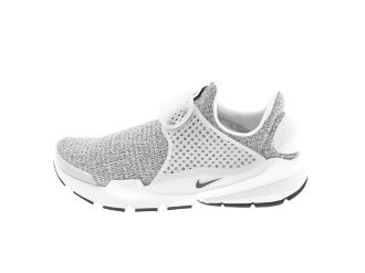 WMNS NIKE SOCK DART SE (862412-100) WHITE/BLACK-METRO GREY