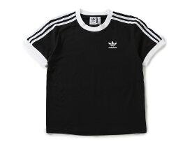 adidas 3 STRIPES TEE(CY4751)【アディダス】【レディースファッション】【トップス】【Tシャツ】【スポーツ】【ストリート】
