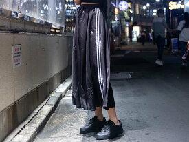 【OUTLET特価】adidas LONG SATIN SKIRT(FL0039)【アディダス】【レディースファッション】【ボトムス】【スカート】【ストリート】