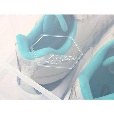 【FIGURE】TOWERBOXNORMALTYPE(tb0001)【タワーボックスノーマルタイプ】【収納棚】【収納BOX】【スニーカーグッズ】【シューズボックス】【ファッショングッズ】