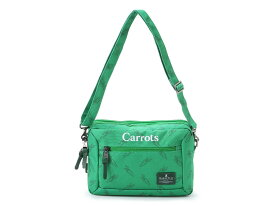【OUTLET特価】MAKAVELIC×Carrots BILAYER POUCH BAG(3109-10514)【マキャベリック×キャロッツ】【バッグ】【カバン】【肩掛け】【コラボレーション】【コラボアイテム】【キャロッツバイアンワーキャロッツ】【ストアレビュー記載でソックスプレゼント対象品】