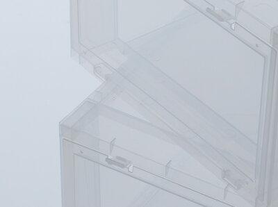 TOWERBOXNORMALTYPE-(TB0001-2)【タワーボックス】【スニーカーケース】【シューズケース】【下駄箱】【靴箱】【収納】【ショップレビュー記載でマスクプレゼント対象品】