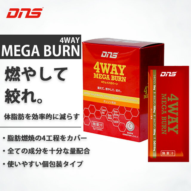 DNS ディーエヌエス 4ウェイメガバーン スティックタイプ 脂肪燃焼サプリメント