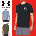 UNDER ARMOUR メンズ Tシャツ ヒートギア 夏用 背中ロゴ マントラTシャツ 1289893 アンダーアーマー