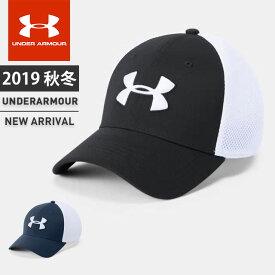 アンダーアーマー メンズ 帽子 メッシュキャップ UA スレッドボーン クラシック ヒートギア ストーム はっ水 ゴルフ トレーニング 1305017 UNDER ARMOUR