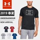 ネコポス アンダーアーマー メンズ Tシャツ 半袖 丸首 UA ボックスド スポーツスタイル ショートスリーブ ヒートギア …