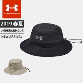 ☆アンダーアーマー メンズ クリアランス キャップ 帽子 UA アーマーベント ウォリアー バケット ハット カジュアル 軽量 耐久性 速乾性 1328632 UNDER ARMOUR あす楽