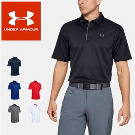 ☆ネコポス アンダーアーマー UNDER ARMOUR ポロシャツ UAテックポロ ゴルフ ポロシャツ メンズ 1290140 あす楽対応可