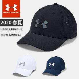 ☆アンダーアーマー メンズ キャップ 帽子 ゴルフ 1328670 UA ドライバーキャップ3.0 メッシュキャップ サイズ調節可能 あす楽