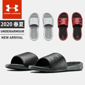 ☆【2/26水9:59まで最新春夏モデルに使えるクーポン配付中】 アンダーアーマー メンズ スポーツ サンダル UA プレイメーカー ダイバージ シューズ 靴 UNDER ARMOUR 3022714 あす楽対応可