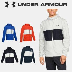 ☆アンダーアーマー クリアランス メンズ パーカー ジャケットウインドブレーカー 1329297 UNDER ARMOUR スポーツスタイルウィンドジャケット あす楽対応可