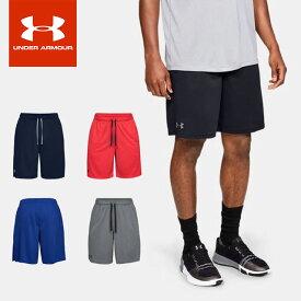 ☆ネコポス アンダーアーマー メンズ ジャージハーフパンツ UA Tech Mesh Shorts 1358564 スポーツウェア UNDER ARMOUR あす楽対応可