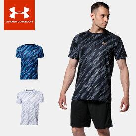 ☆ネコポス UNDER ARMOUR アンダーアーマー UA TECH SS BB NOVELTY SHIRT 野球 半袖Tシャツ メンズ 1364482 あす楽対応可