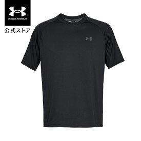 公式 アンダーアーマー UNDER ARMOUR UAテック2.0 ショートスリーブ Tシャツ トレーニング メンズ 1358553