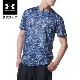 公式 アンダーアーマー UNDER ARMOUR UA読売ジャイアンツ カモ Tシャツ TOKYO ベースボール メンズ 1364036 トレーニング tシャツ メンズ ブランド