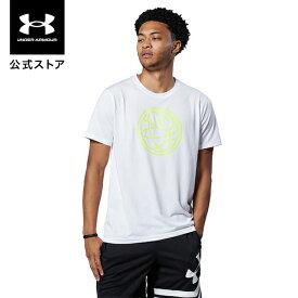 公式 アンダーアーマー UNDER ARMOUR UAテック バスケットボール アイコン Tシャツ バスケットボール メンズ 1364717