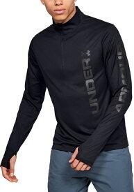 セール価格【公式】 アンダーアーマー(UNDER ARMOUR)  Tシャツ UAスピードストライドグラフィック1 / 4ジップ ( ランニング / ロングスリーブ / MEN)