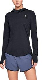 セール価格【公式】アンダーアーマー(UNDER ARMOUR)(UNDER ARMOUR) Tシャツ レディース UA ストリーカー2.0 ロングスリーブ フーディー ( ランニング / Tシャツ / WOMENS)