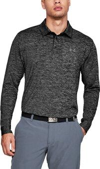 公式 アンダーアーマー UNDER ARMOUR UA ロングスリーブ プレーオフ2.0 ポロ ゴルフ ポロシャツ メンズS