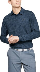 セール価格 公式 アンダーアーマー UNDER ARMOUR UA ロングスリーブ プレーオフ2.0 ポロ ゴルフ ポロシャツ メンズS