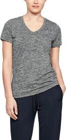 セール価格【公式】アンダーアーマー(UNDER ARMOUR)レディースUA テック ショートスリーブ V ネック ツイスト ( トレーニング トレーニングウェア フィットネス ウェア/Tシャツ/WOMEN ウーマン レディースS )